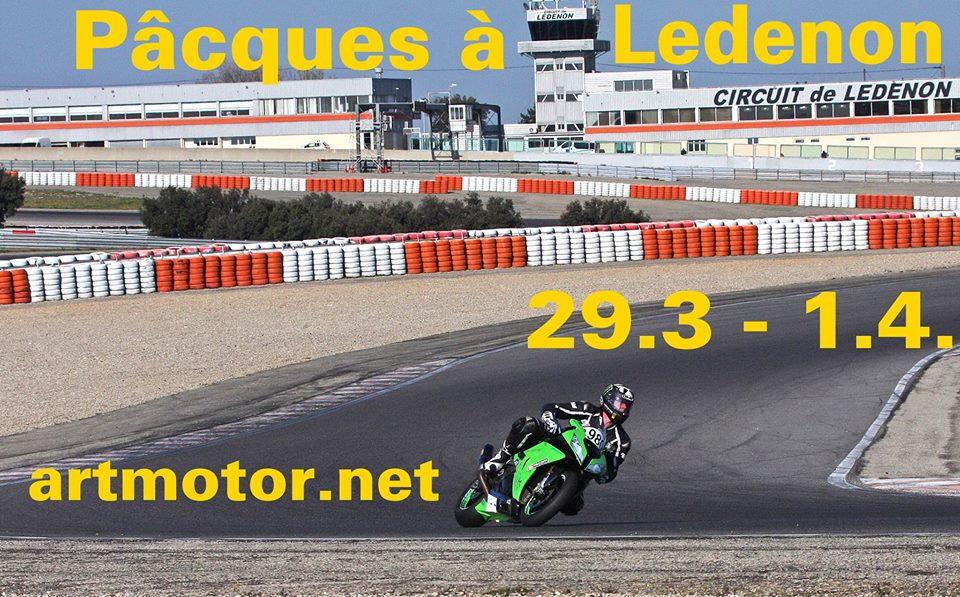 Roulage moto au Lédenon pour Pâques avec ArtMotor @ Circuit de Lédenon | Lédenon | Occitanie | France