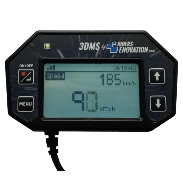 Ecran 3DMS vitesse