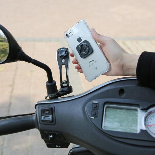 Support réglable moto scooter écran smartphone GPS