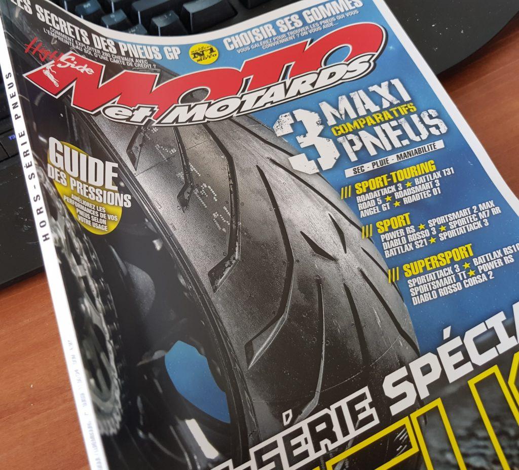 1e page Moto et motards août 2018