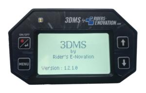 Ecran 3DMS page démarrage