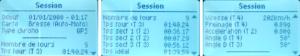 Chronos et données de session