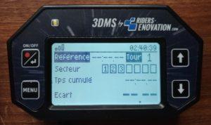 Ecran 3DMS Mode Secteurs Cumulés